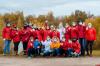 В Пскове добровольцы очистили берег Великой от мусора