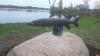 Фотофакт: Новая скульптура появилась в Себеже