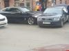 «БМВ» и «Ауди» столкнулись на Октябрьском проспекте в Пскове. ФОТО