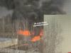 В Великих Луках горит завод электротехнического оборудования. ВИДЕО
