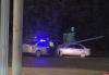 Пьяный водитель врезался в световую опору на Октябрьском проспекте в Пскове