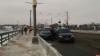 Движение транспорта затруднено на Ольгинском мосту в Пскове из-за ДТП. ФОТО