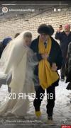 Редким фото с венчания в Троицком соборе поделилась Юлия Высоцкая