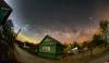 Млечный Путь запечатлели над псковской деревней Черняковицы