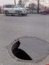 Фотофакт: Опасный люк на улице Горького