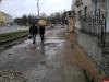Интерактив: Провалилась в вымоину в центре Пскова
