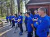 Учения для волонтеров национального центра помощи в СЗФО проходят в Псковской области