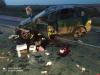«Рено» перевернулся на трассе под Островом, пострадала женщина
