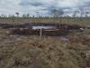 Сбитый в 1944 году самолет поднимают из болота в Пыталовском районе