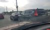 «Хонда» врезалась в «Хендай» в Пскове на Ольгинском мосту