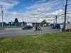 В Пскове автомобилист пересек сплошную линию и врезался в мопед