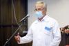 Работники областной больницы принимают поздравления с профессиональным праздником