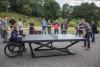 Теннисный стол установили в Финском парке Пскова. ФОТО, ВИДЕО