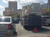 Сломавшийся автокран стал причиной огромной пробки на улице Юбилейной в Пскове