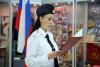 Ряды псковской полиции пополнили девять девушек