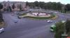 Автобус попал в ДТП на площади Победы в Пскове