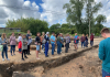 Для сотрудников музея провели занятие на археологическом раскопе в Пскове