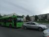 В ДТП с автобусом в Пскове пострадала кондуктор