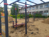 Новая воркаут-площадкапоявилась у школы вВеликих Луках