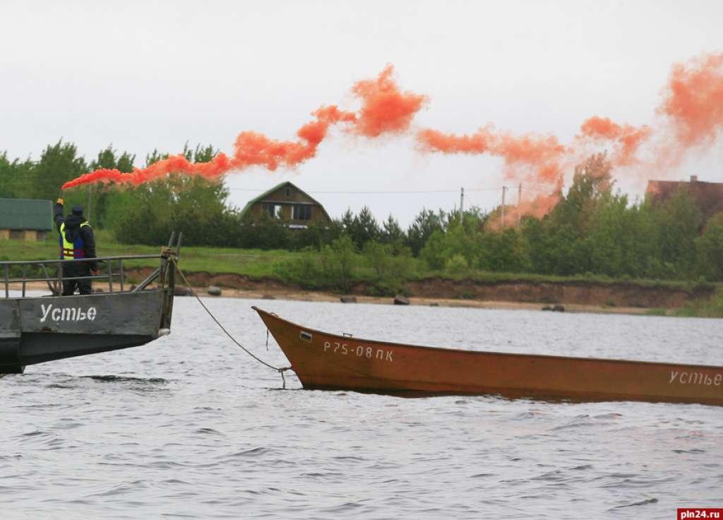 спасение рыбаков на чудском