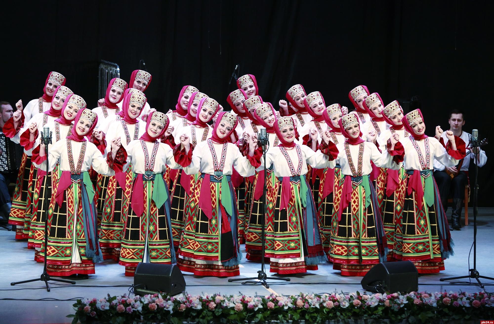 наклеить русский народный хор имени пятницкого картинки было
